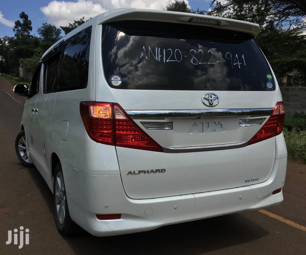 Toyota Alphard 2012 White | Cars for sale in Langata, Nairobi, Kenya