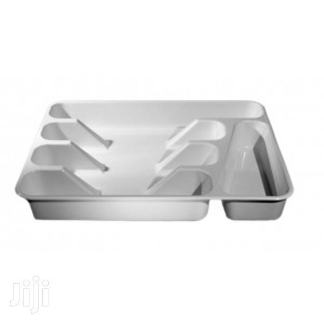 Archive: Melamine Kitchen Drawer Cutlery Tray