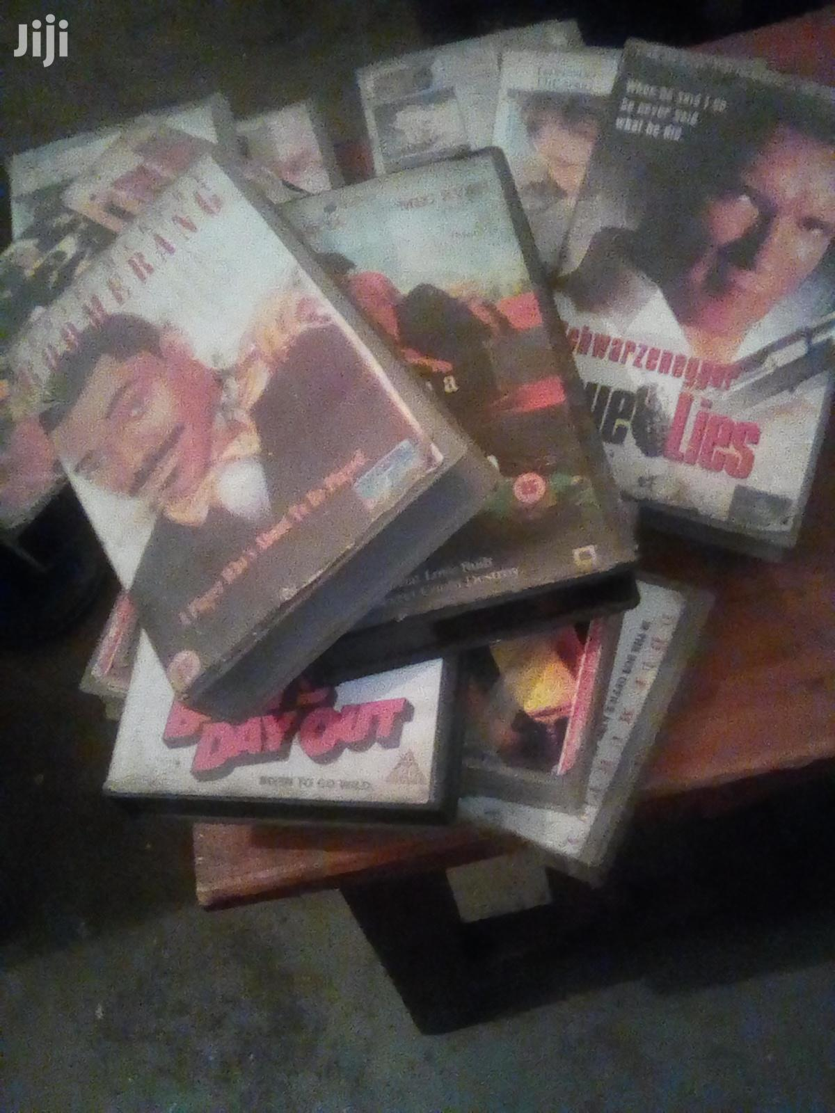 Vcr Tapes And Movie Sets From The 90s | CDs & DVDs for sale in Nairobi Central, Nairobi, Kenya