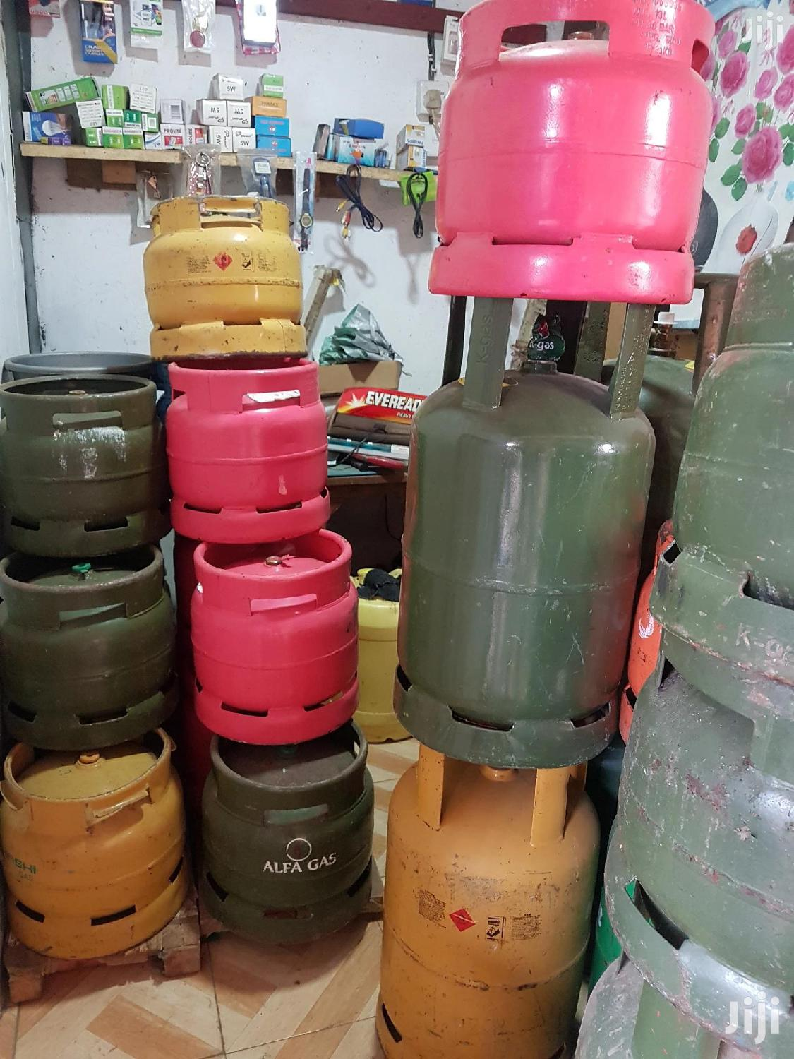 6kg Key Gas Cylinder Complete | Kitchen Appliances for sale in Kisii Central, Kisii, Kenya