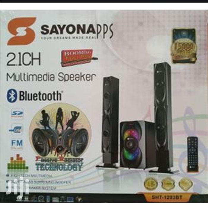Archive: Sayona Sht-1291bt 4.1ch Subwoofer - High Tallboy Speakers