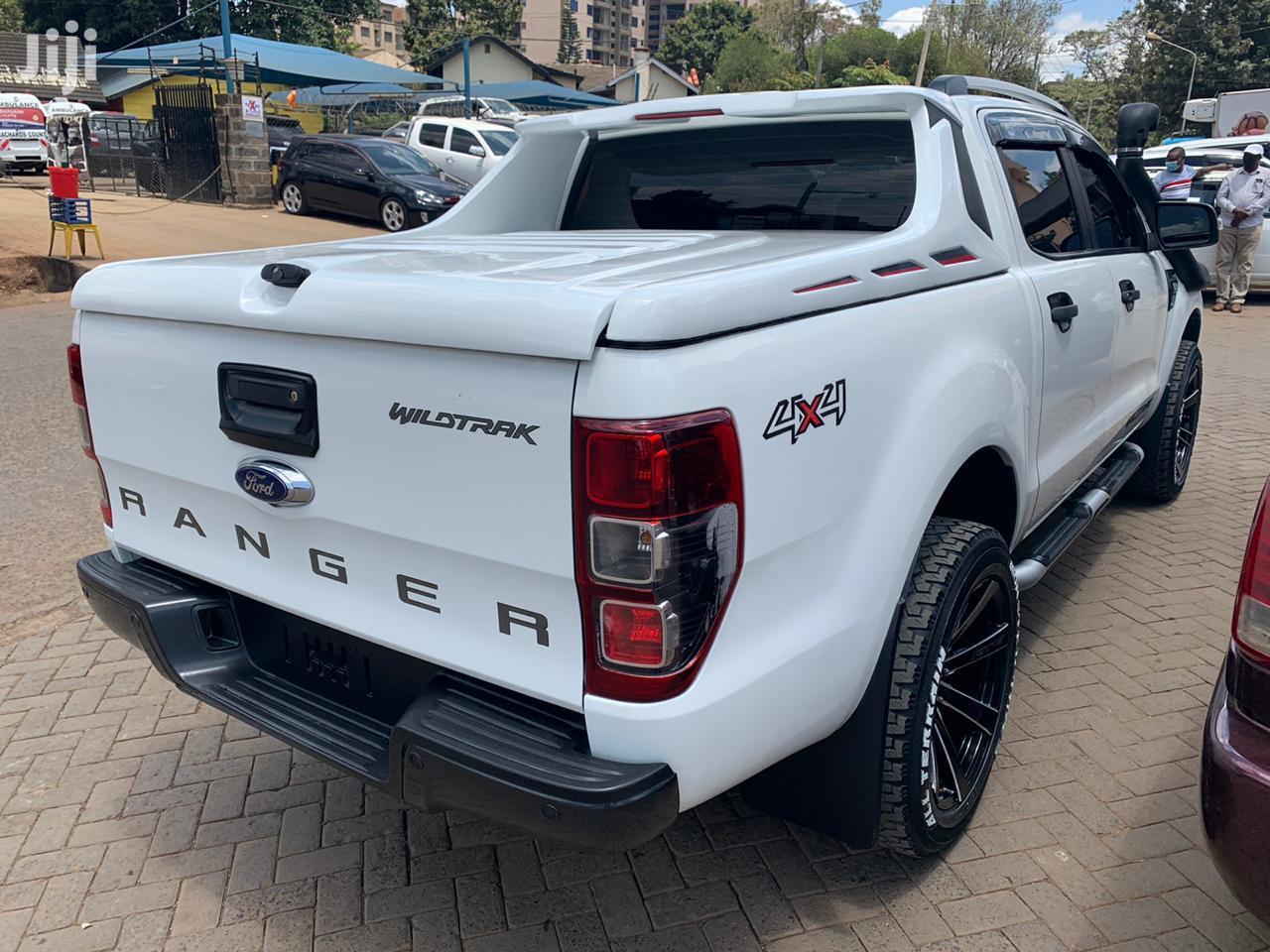 Archive: Ford Ranger 2014 White