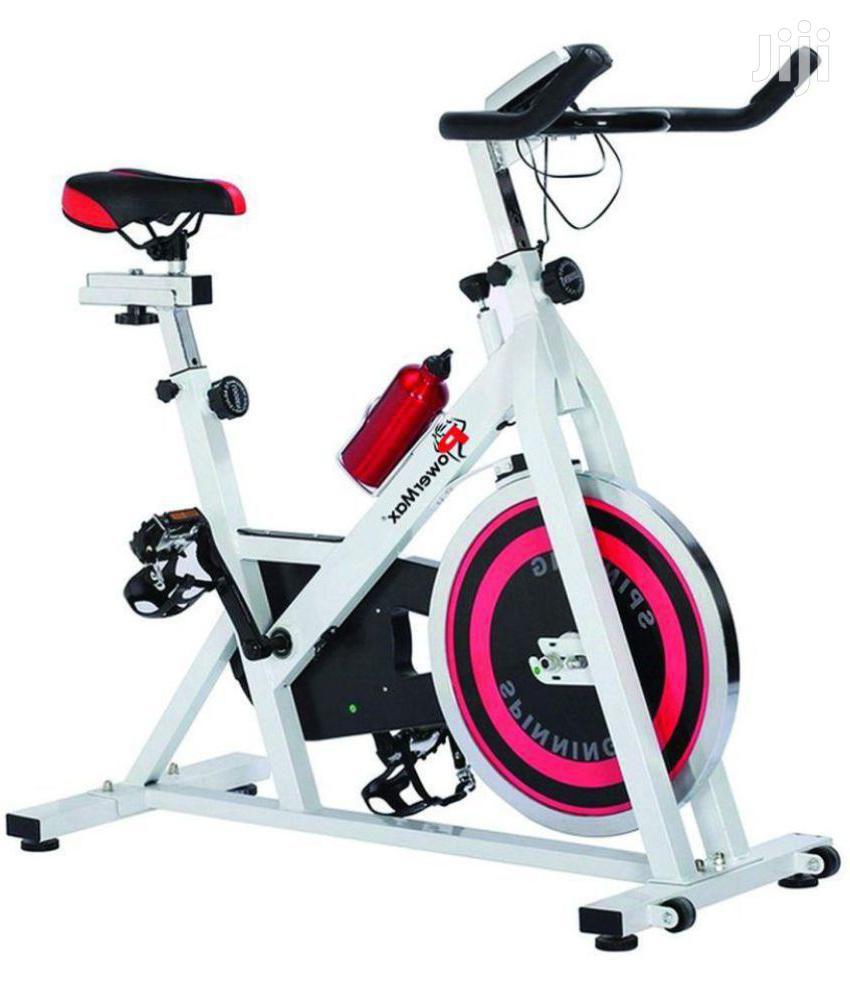 Stationary Cardio Exercise Spinning Bikes 13kg Flywheel