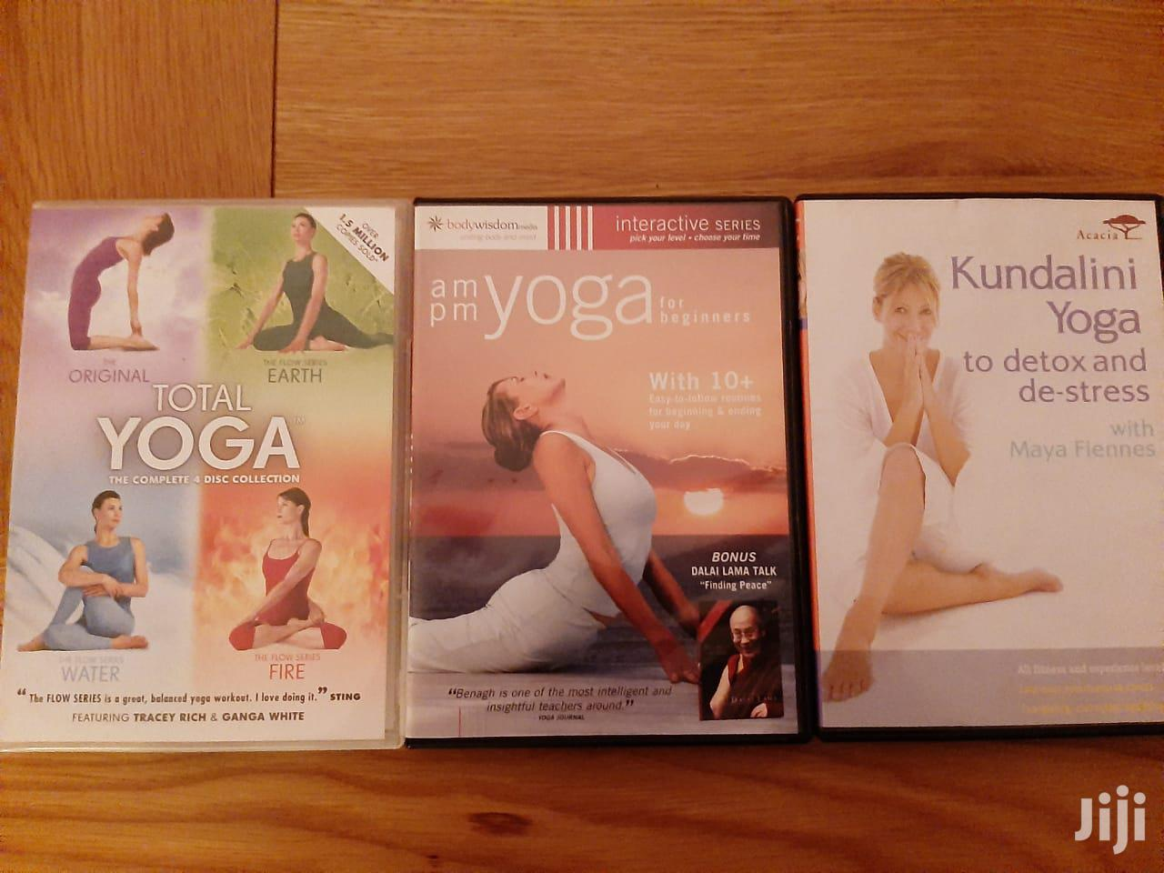 Archive: REDUCED Set of 3 Yoga Dvds