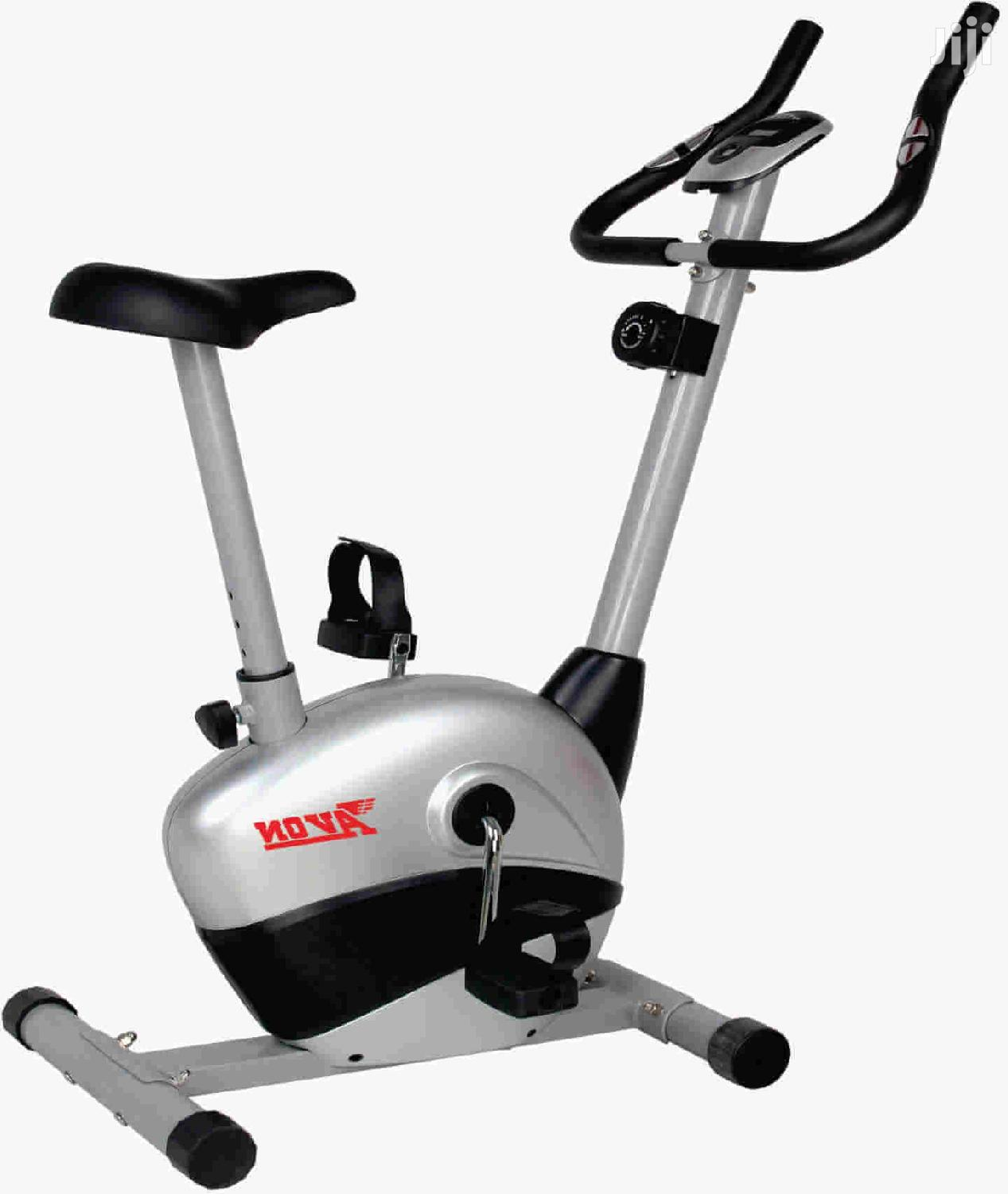Gym Upright Exercise Bikes Magnetic With Pulse