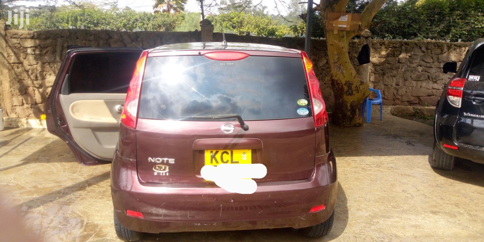 Nissan Note 2010 1.4 Red | Cars for sale in Ngong, Kajiado, Kenya