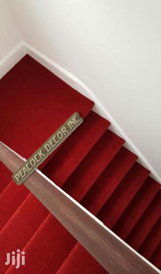 Delta – 4mm Thick RED CARPETS