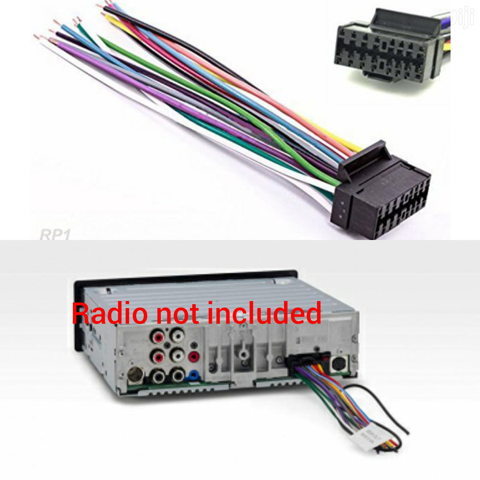 Sony 40 pin Car Stereo Wiring Harness