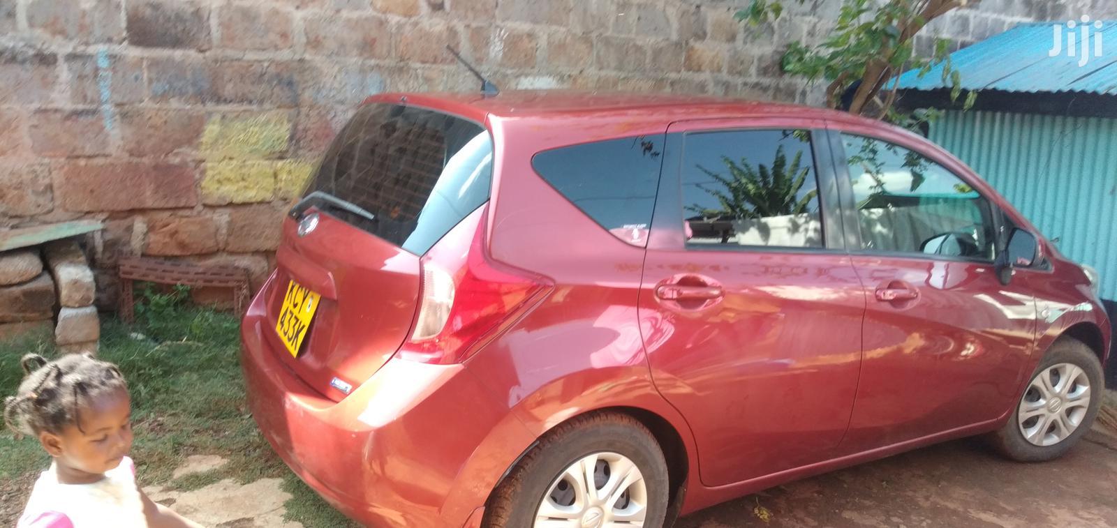Nissan Note 2012 1.4 Red   Cars for sale in Nairobi Central, Nairobi, Kenya