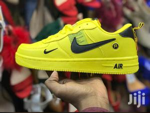 Nike Air Force Sneakers - Yellow   Shoes for sale in Nairobi, Nairobi Central