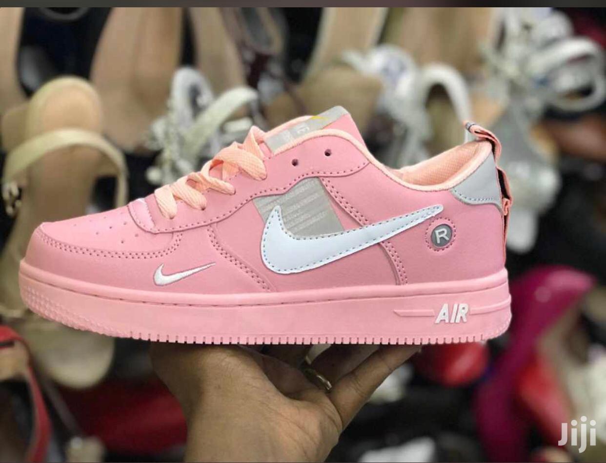 Nike Air Force Sneakers - Black | Shoes for sale in Nairobi Central, Nairobi, Kenya