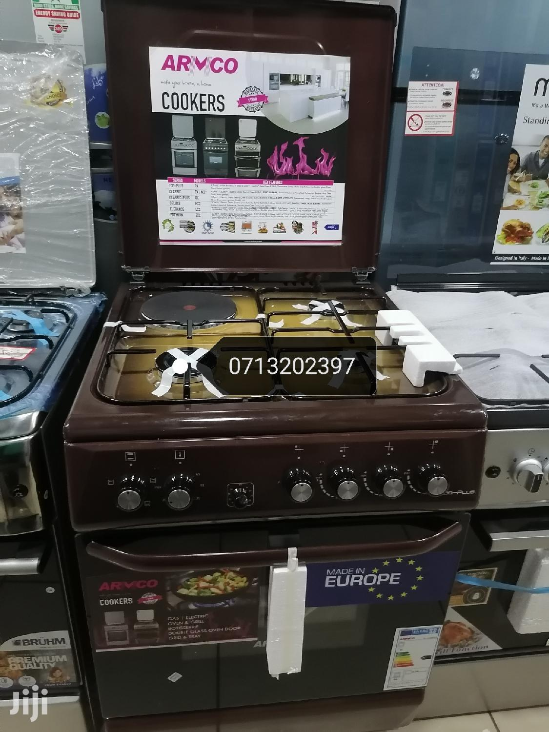 Brand New Armco 3gas and 1 Electric Cooker