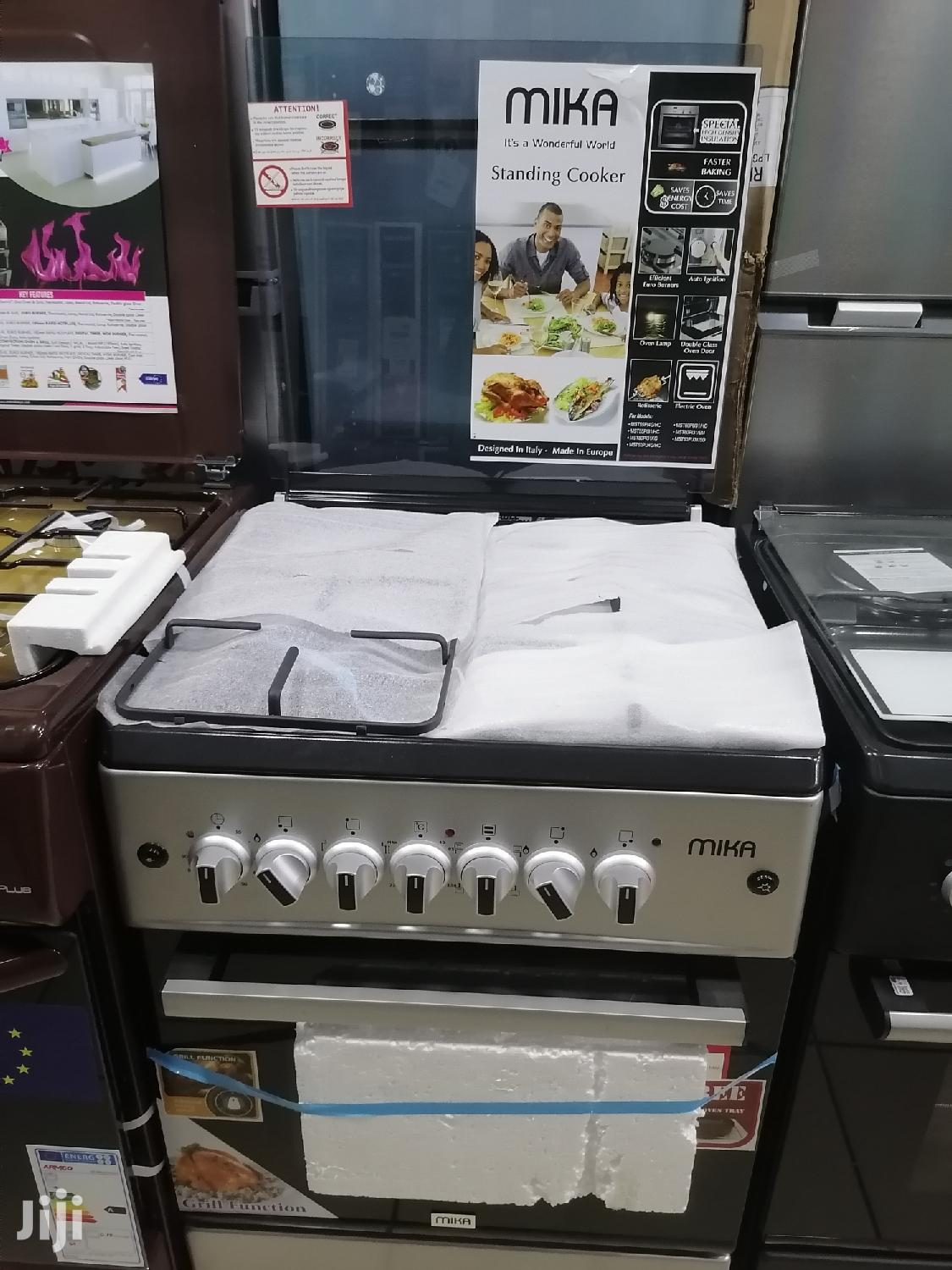 Brand New Mika 3gas and 1 Electric Cooker