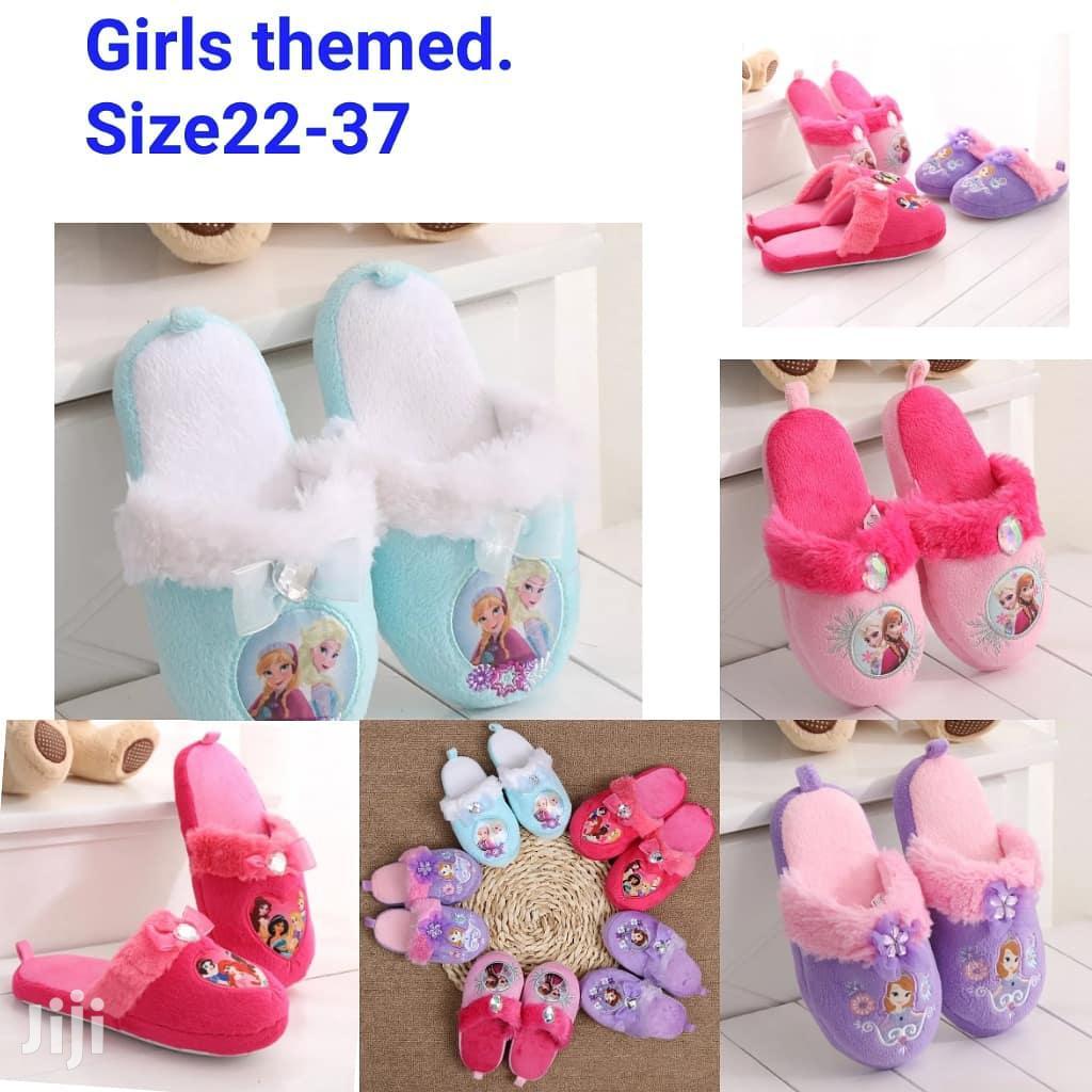 Warm Girls Inhouse Shoes