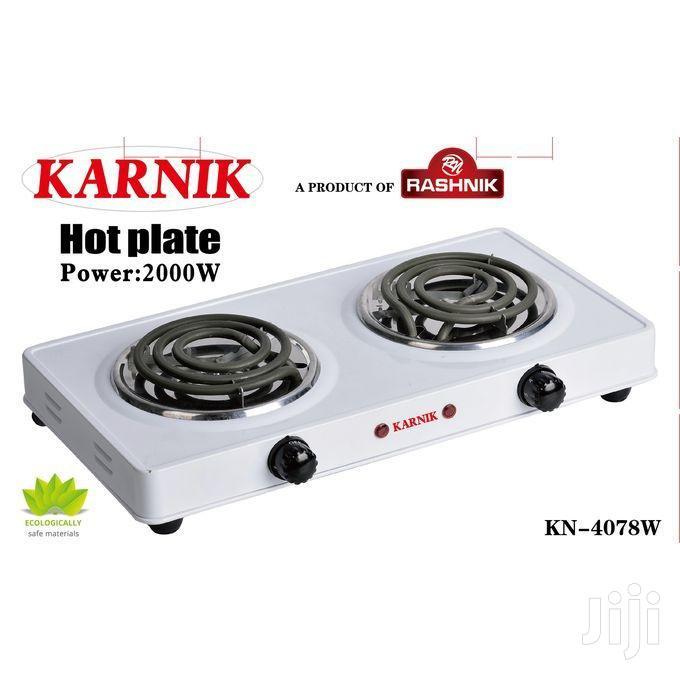 Archive: Rashnik Modern Double Spiral Electric Hotplate -cooker/Burne