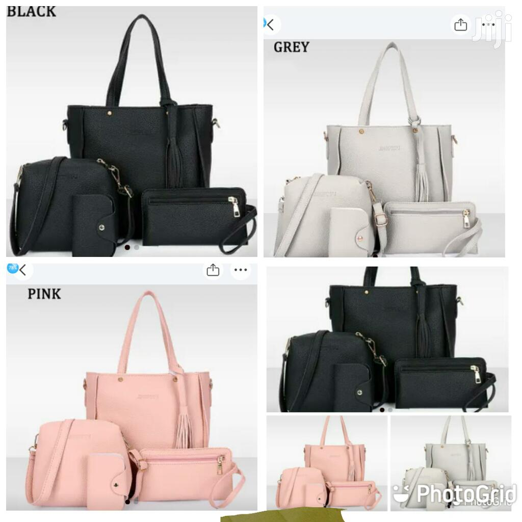 4 in 1 Handbags, Soft Leather