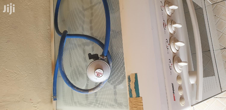 Archive: 4 Burner Gas Cooker With Gas Cylinder N Regulator Hosepipe