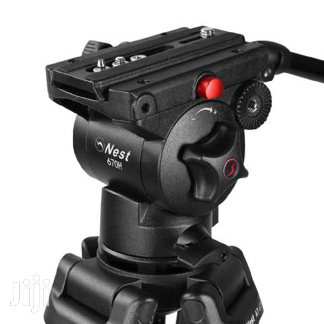 Nest Pro Video Tripod NT-670 + Fluid Damped Pan Head | Accessories & Supplies for Electronics for sale in Nairobi Central, Nairobi, Kenya