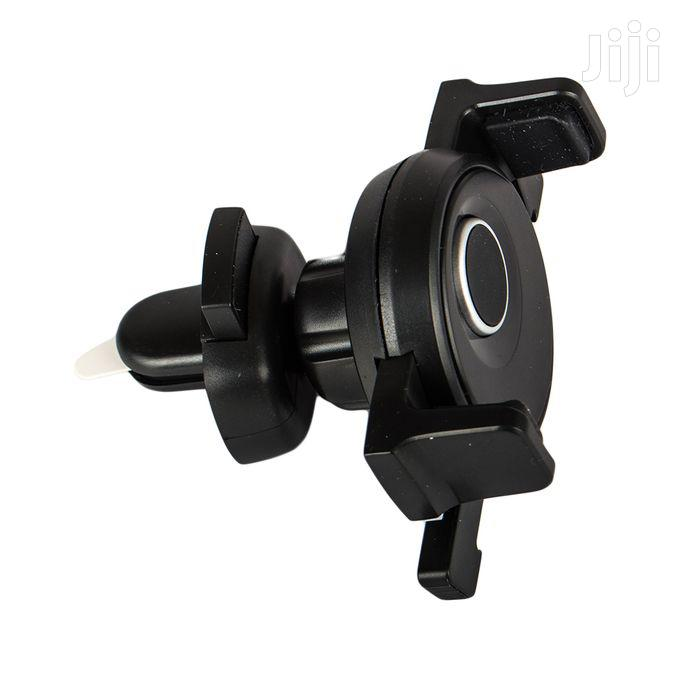 PE-K10 Car Outlet Bracket For Mobile Phone – Black.