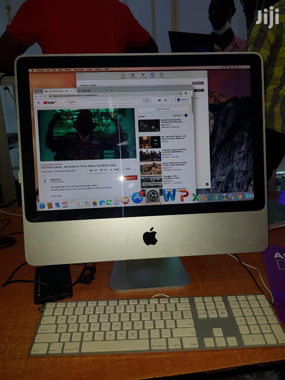 """2008 Apple iMac 20"""" Core 2 Duo 2.40ghz 2gb RAM 250GB Storage"""