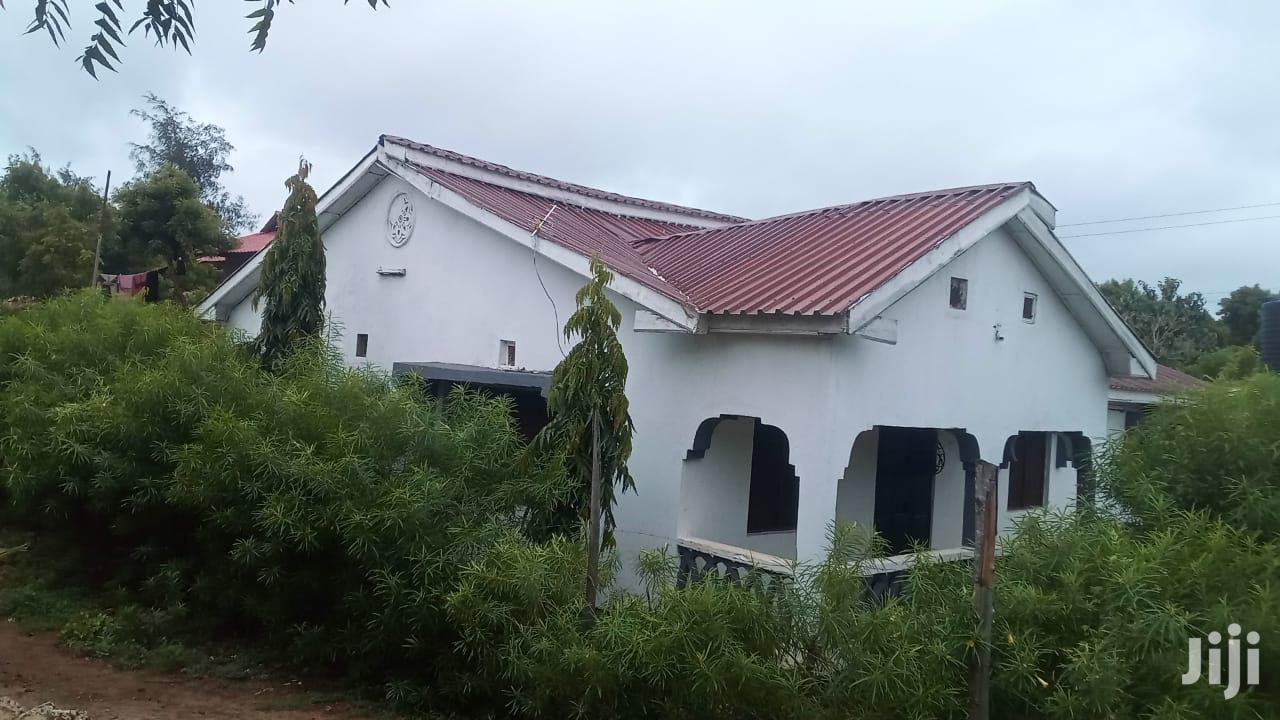 Bungalow For Sale At Mtwapa- Jumba Ruins