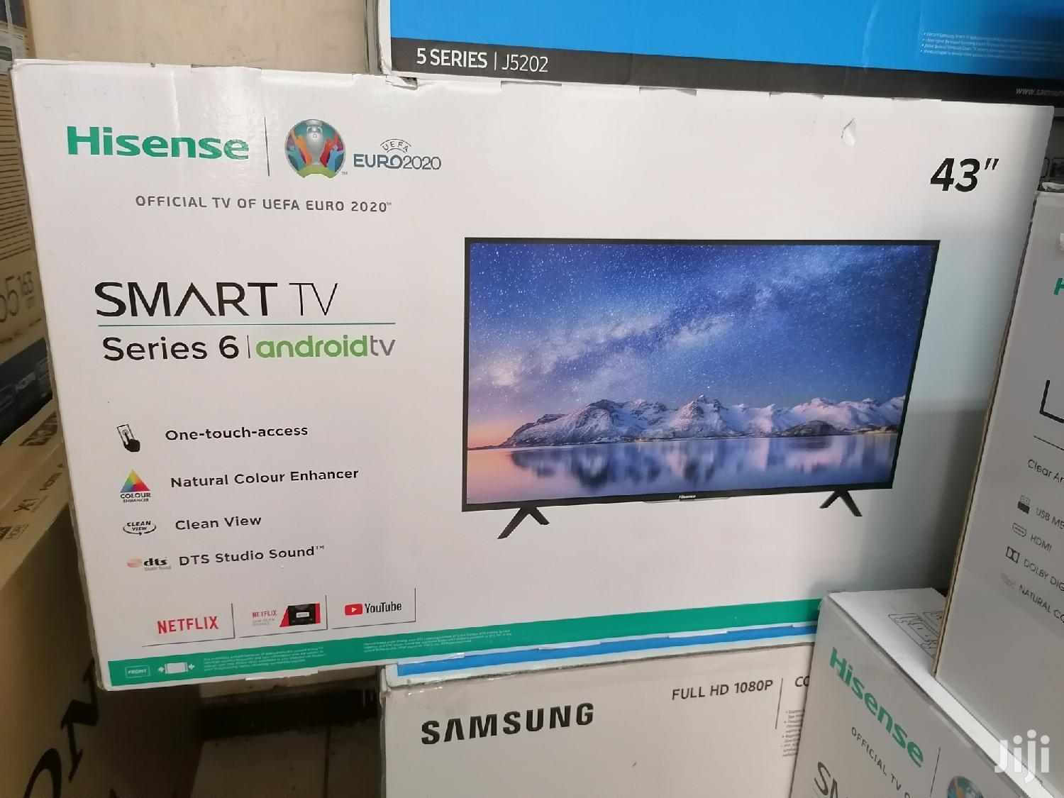 Brand New Hisense Smart Android Series 6 Tv 43 Inch