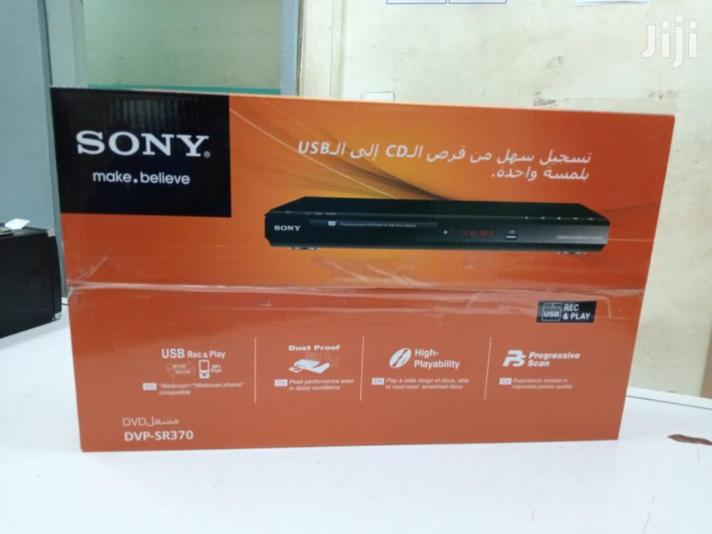 Sony Dvd Player DVP-SR370 USB DVD