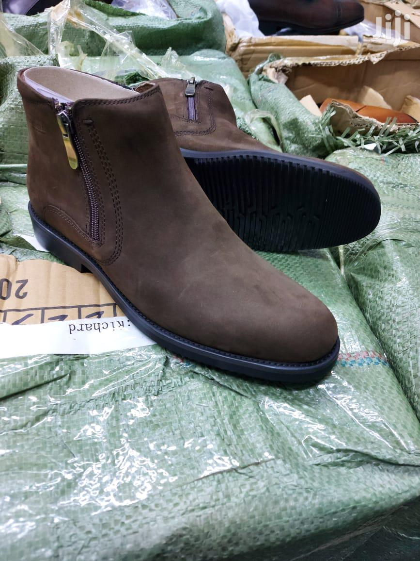 Pure Leather Boots | Shoes for sale in Nairobi Central, Nairobi, Kenya