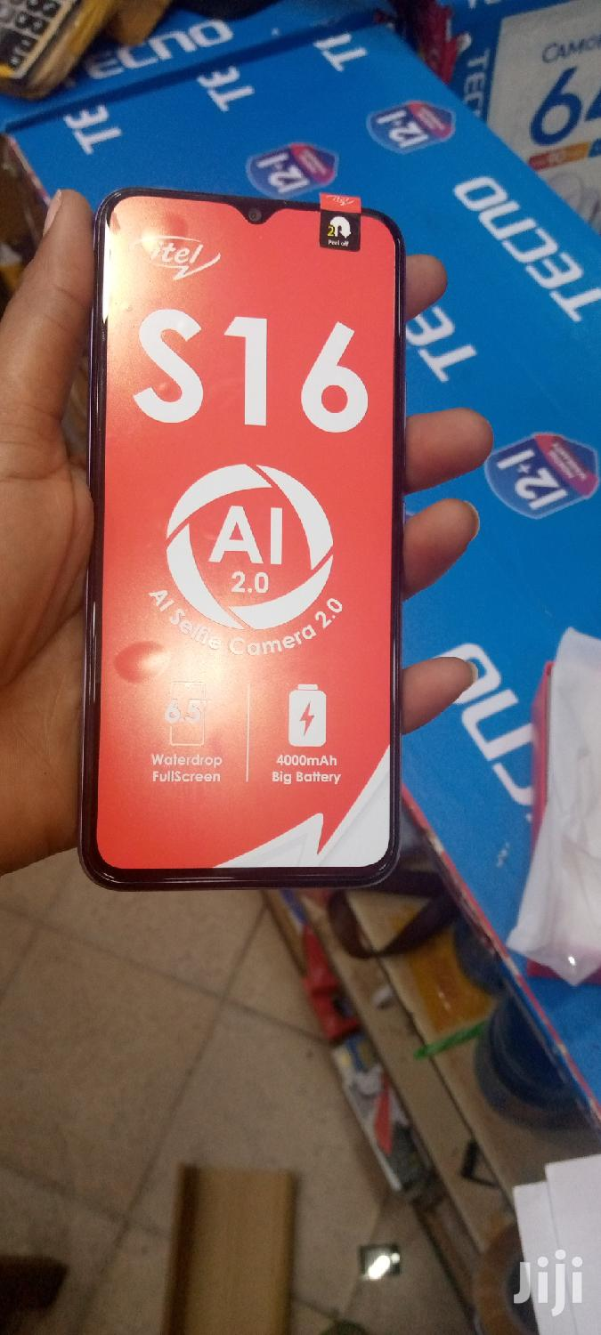 New Itel S15 16 GB Blue