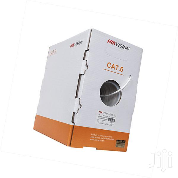 HIKVISION Cat6 Networking UTP Cable - 305M