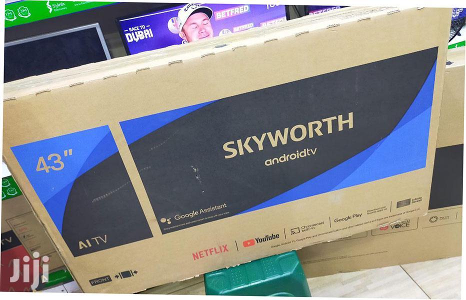 Skyworth 32TB7000 32 Frameless Smart Android LED TV – Black