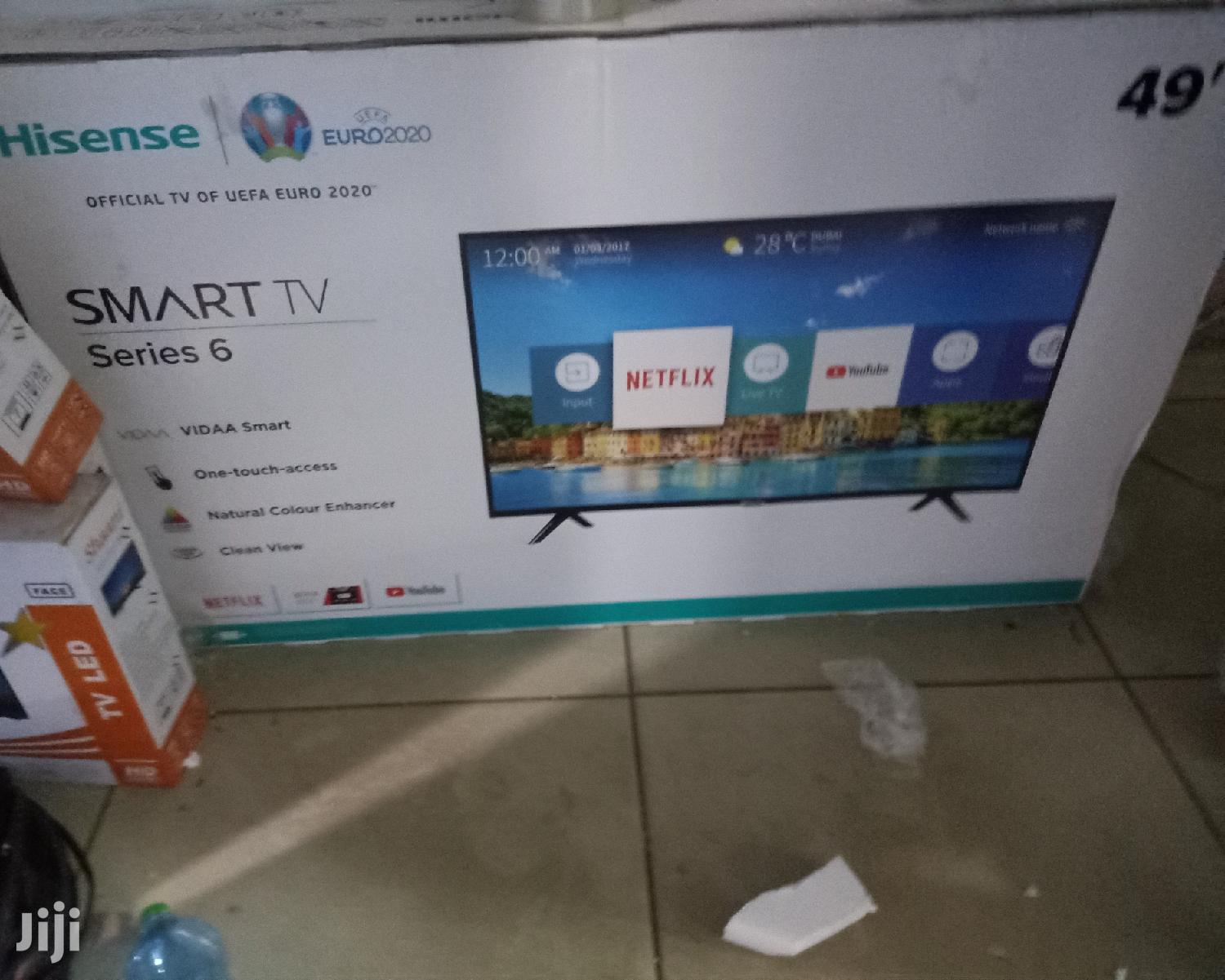 "Archive: Hisense 49"" Inches Smart Digital Tv"