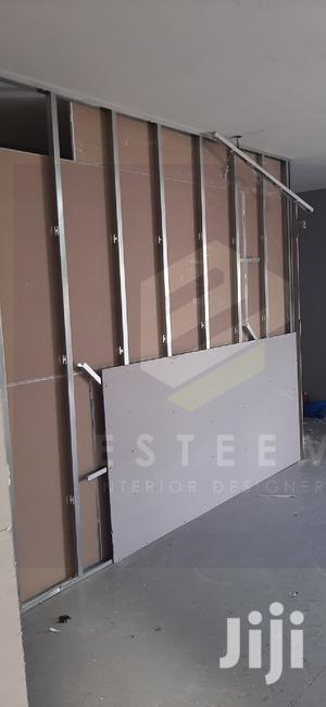 Gypsum Dry Wall Partition In Progress   Building & Trades Services for sale in Nairobi, Nairobi Central