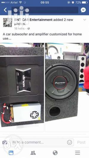 Customized Powered Woofers