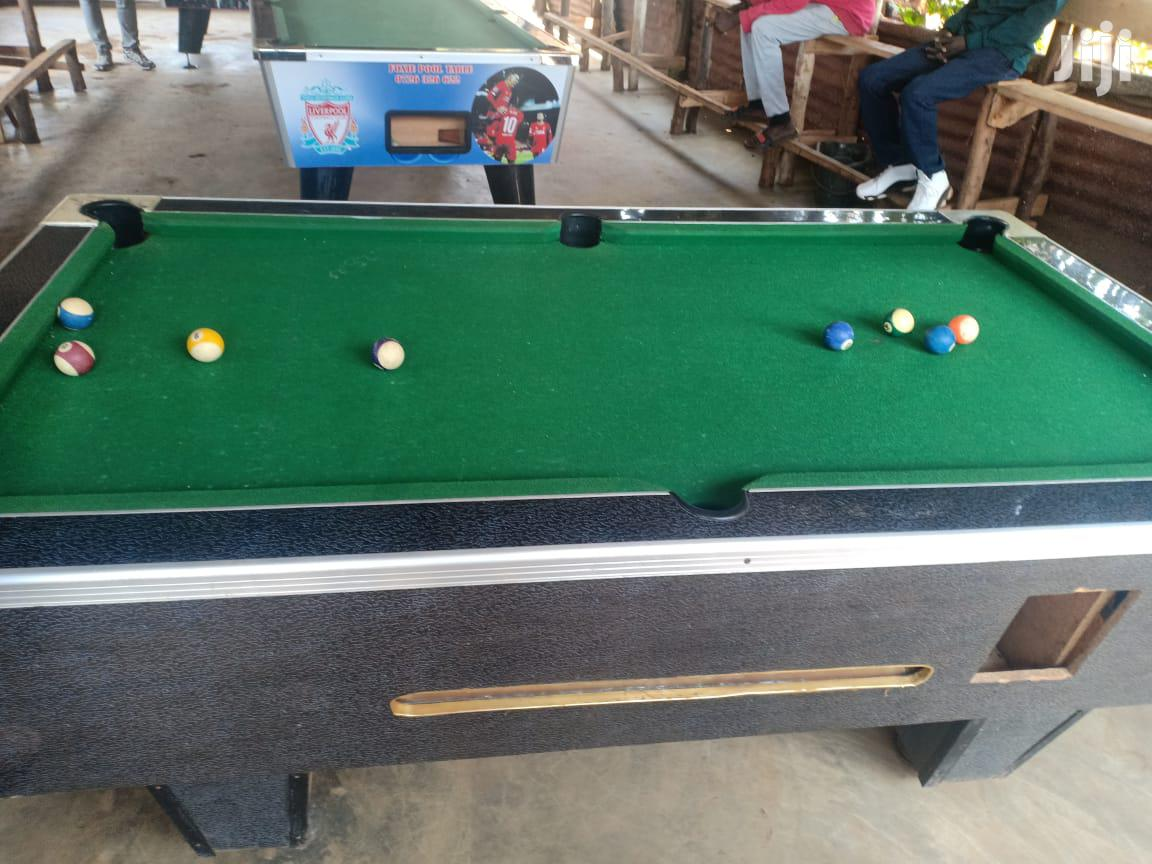 Second Hand Marble Pool Table