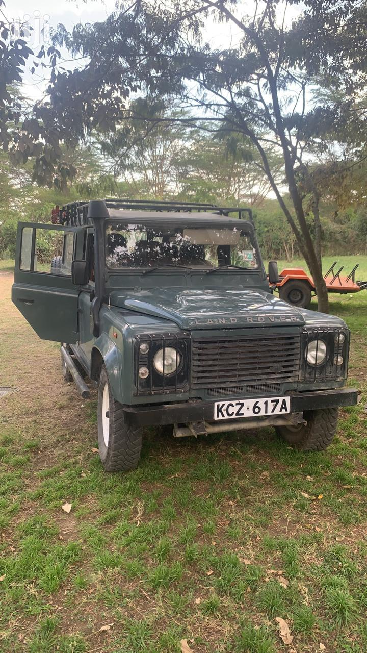 Archive: Land Rover Defender 2007 110 2.5 TD5 Green