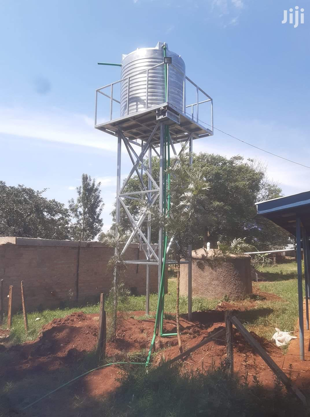 Archive: Water Tank Towers Installation