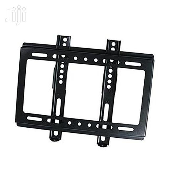 Generic 14''- 42'' TV Flat Panel Wall Bracket Holder Black