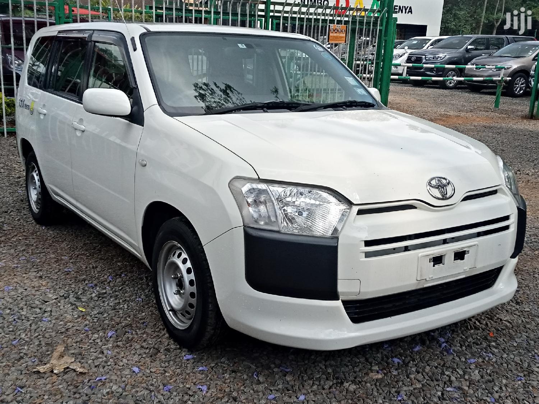 Toyota Succeed 2015 White   Cars for sale in Kilimani, Nairobi, Kenya