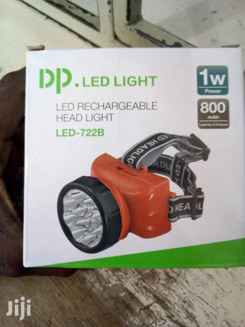 Dp-722b LED Rechargeable Head Light