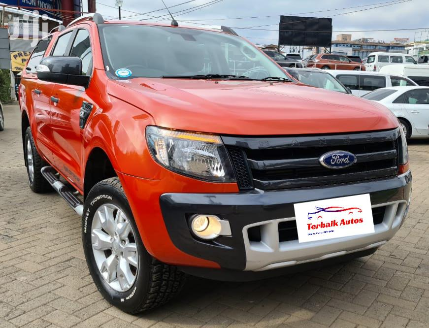 Ford Ranger 2013 Red