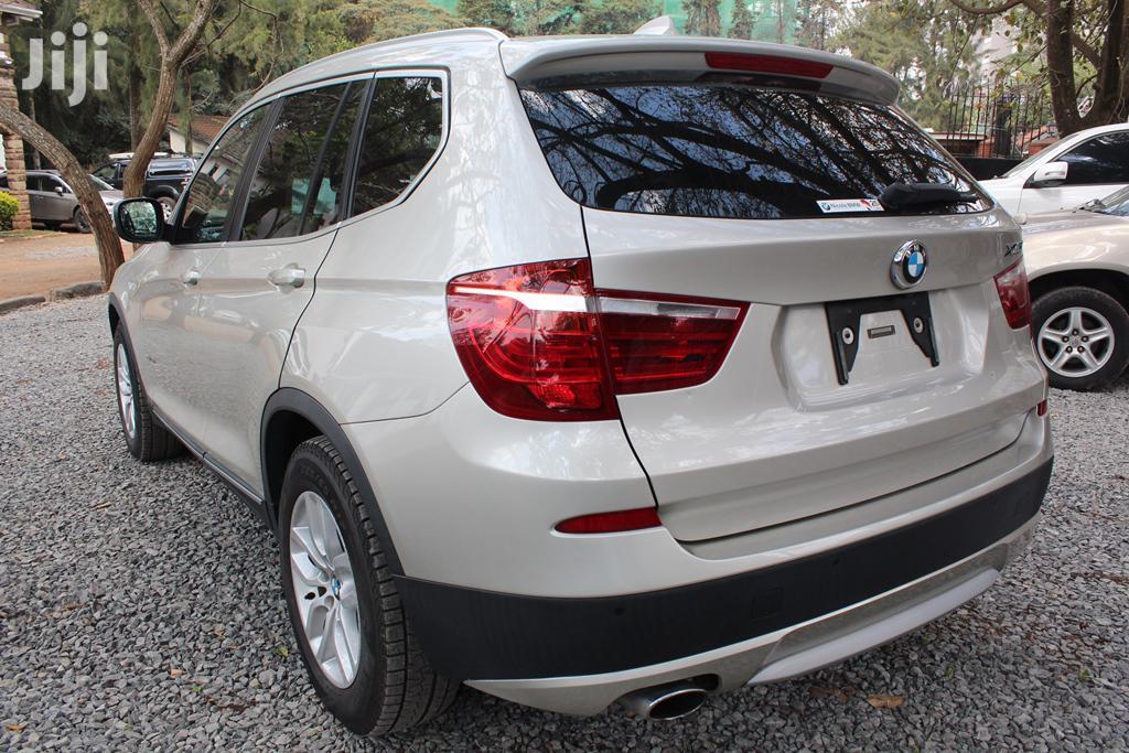 BMW X3 2014 Gold   Cars for sale in Kilimani, Nairobi, Kenya