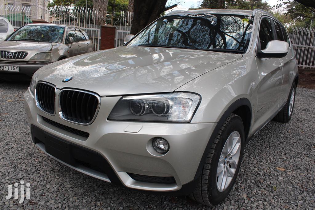 BMW X3 2014 Gold