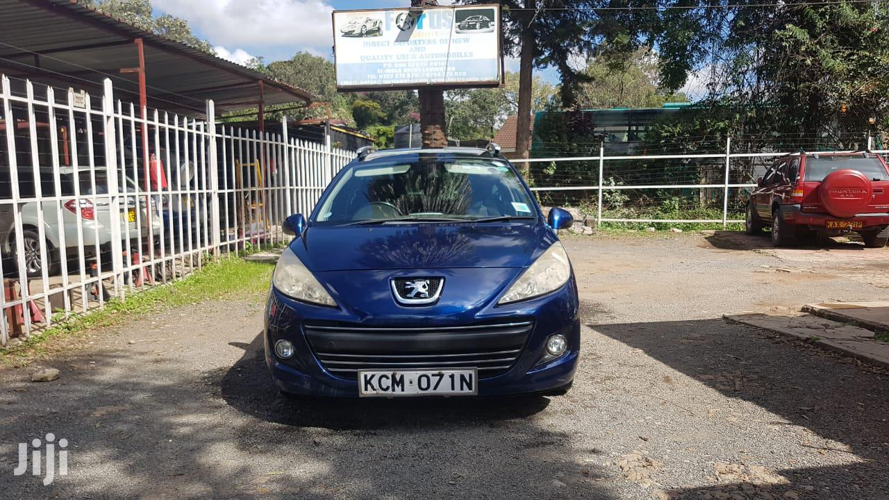 Peugeot 207 2010 Blue | Cars for sale in Lavington, Nairobi, Kenya