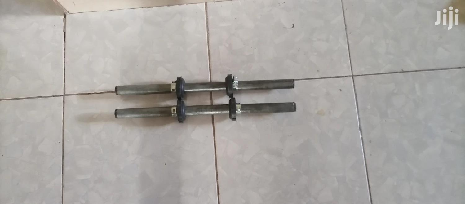 Dumbbell Bars Locally Made