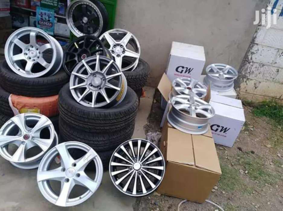 Silver Sport Rims & Tires.