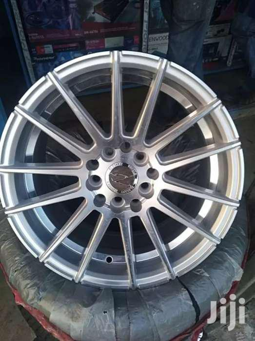 Silver Sport Rims & Tires. | Vehicle Parts & Accessories for sale in Karen, Nairobi, Kenya