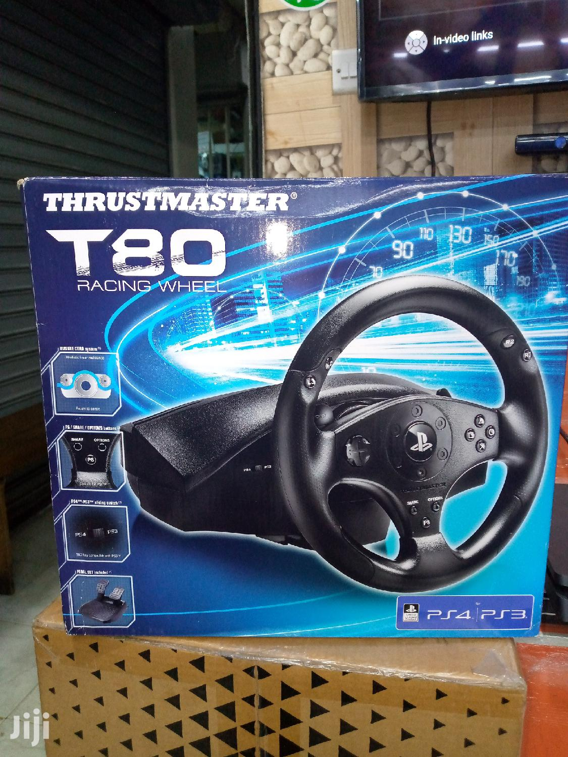 Thrustmaster T80 Racing Wheel | Computer Accessories  for sale in Nairobi Central, Nairobi, Kenya