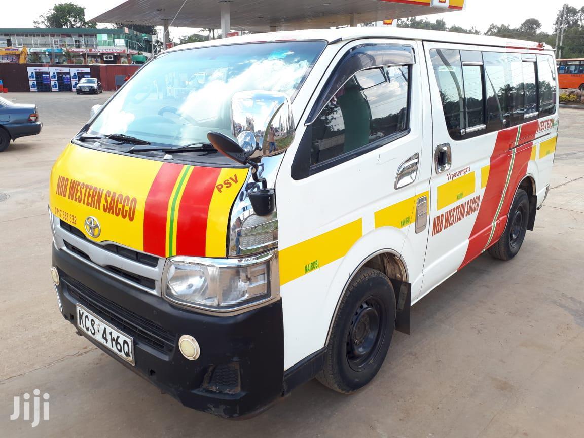 Toyota Hiace On Sale Matatu