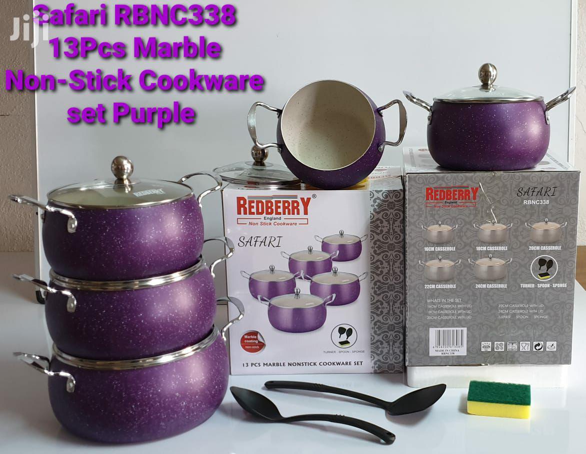 Redberry 13pcs Cookware Set